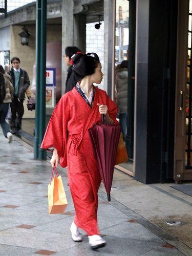 Zdj�cia: Kioto, Kioto, Maiko, JAPONIA