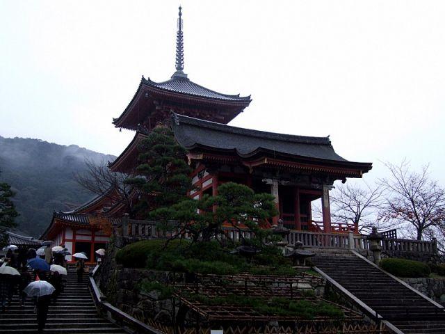 Zdjęcia: Kioto, Kioto, Świątynia Kiyomizudera, JAPONIA