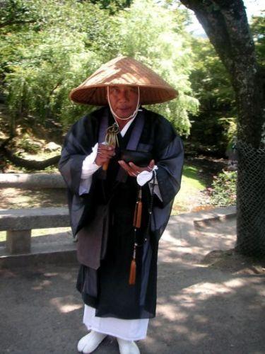 Zdjęcia: Nara, Kansai, mnich, JAPONIA