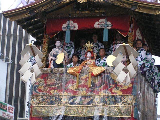 "Zdj�cia: Kyoto, Festiwal ""Gion Matsuri"", JAPONIA"