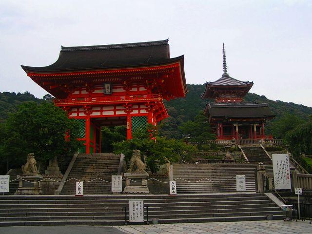 Zdjęcia: Kioto, Świątynia Kiyomizudera, JAPONIA