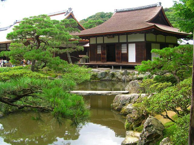 Zdjęcia: Kioto, Świątynia Ginkakuji, JAPONIA