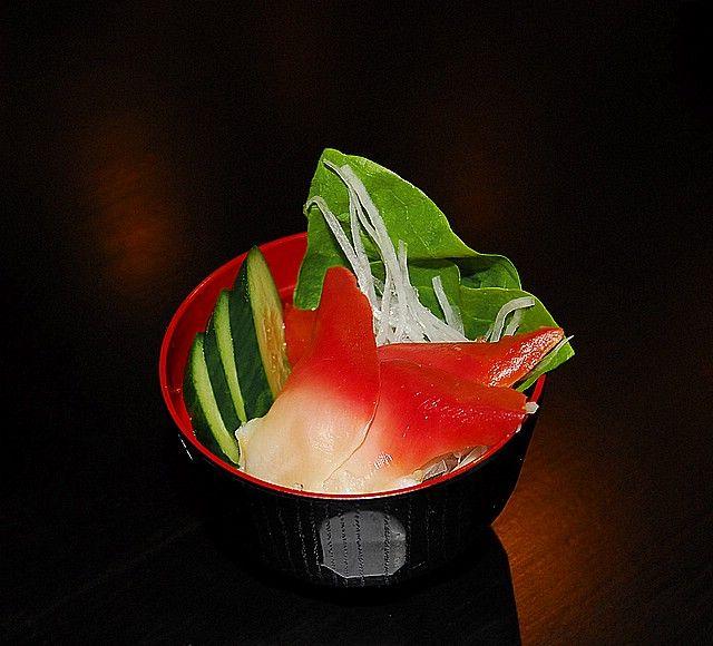Zdjęcia: Tokio, restauracja, sashimi, JAPONIA