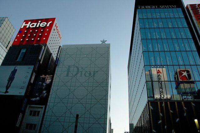 Zdjęcia: Tokio, Ginza, JAPONIA