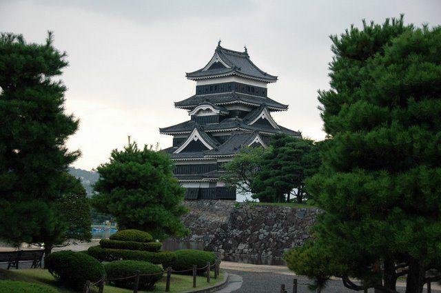 Zdjęcia: Matsumoto, Nagano, Zamek w Matsumoto, JAPONIA