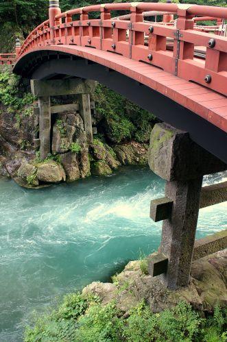 Zdjęcia: Nikko, most, JAPONIA