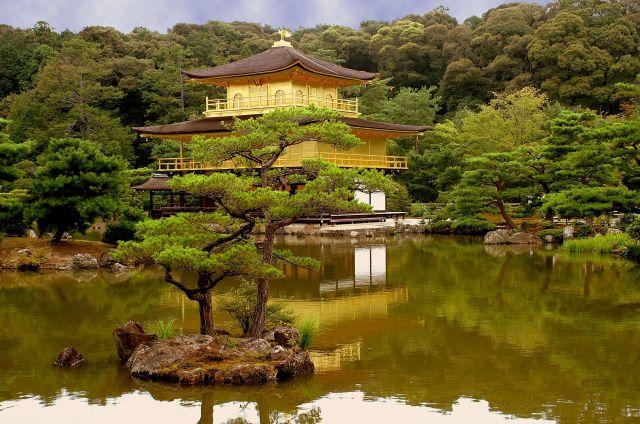 Zdjęcia: kyoto, złoty pawilon, JAPONIA