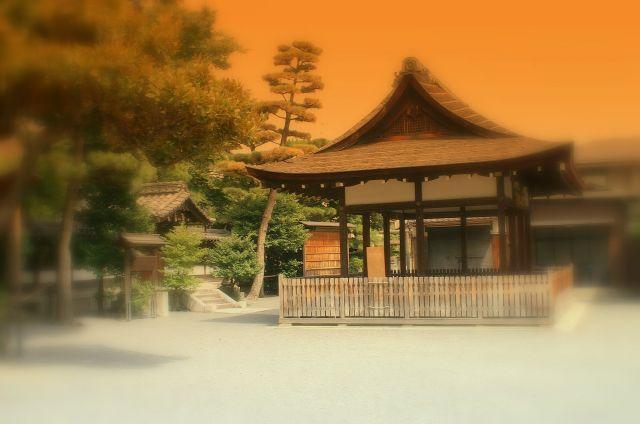 Zdjęcia: Kyoto, w kompleksie ogrodowym , JAPONIA