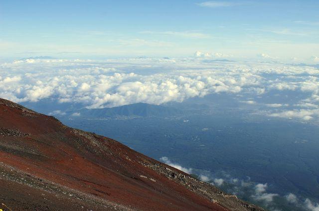 Zdjęcia: Fuji San, zbocze wulkanu, JAPONIA