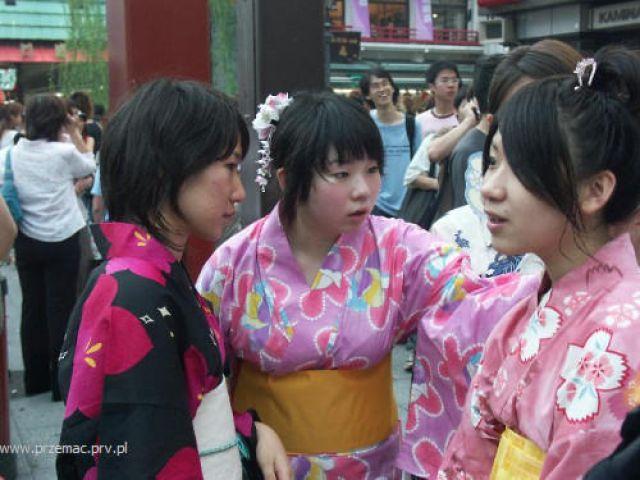 Zdj�cia: Tokio, Kole�anki, JAPONIA