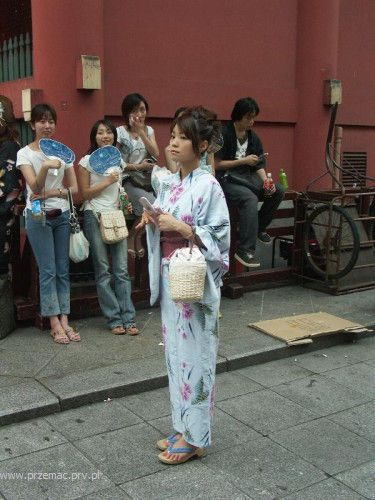 Zdjęcia: Tokio, Kimono, JAPONIA