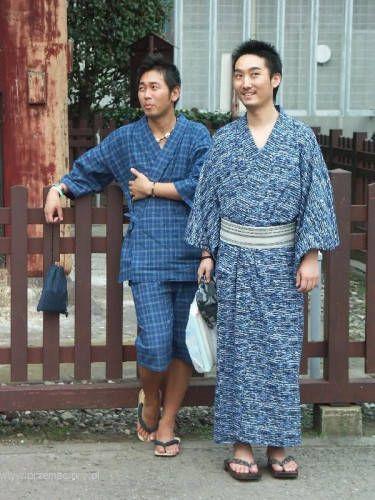 Zdjęcia: Tokio, Tradycyjny strój męski, JAPONIA