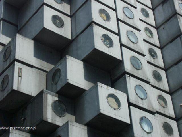 Zdjęcia: Tokio, Hotel kapsułkowy, JAPONIA