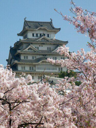Zdjęcia: Himeji, Himeji, rozowy zamek, JAPONIA