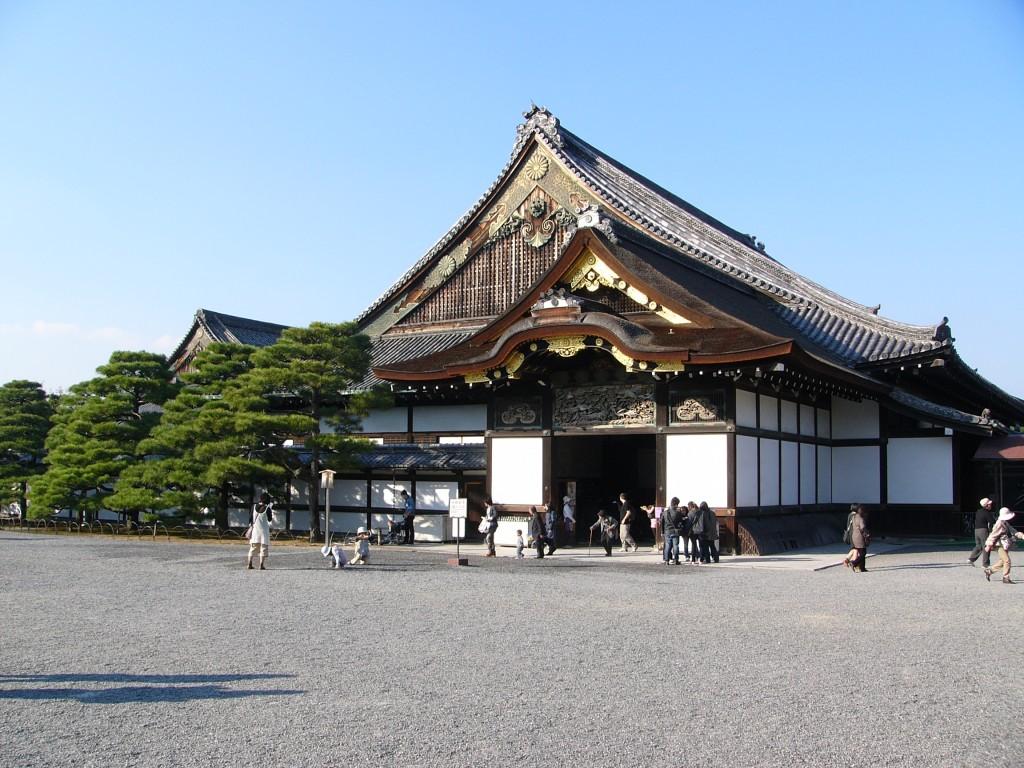 Zdjęcia: Kyoto, Honsiu, Zamek IV, JAPONIA