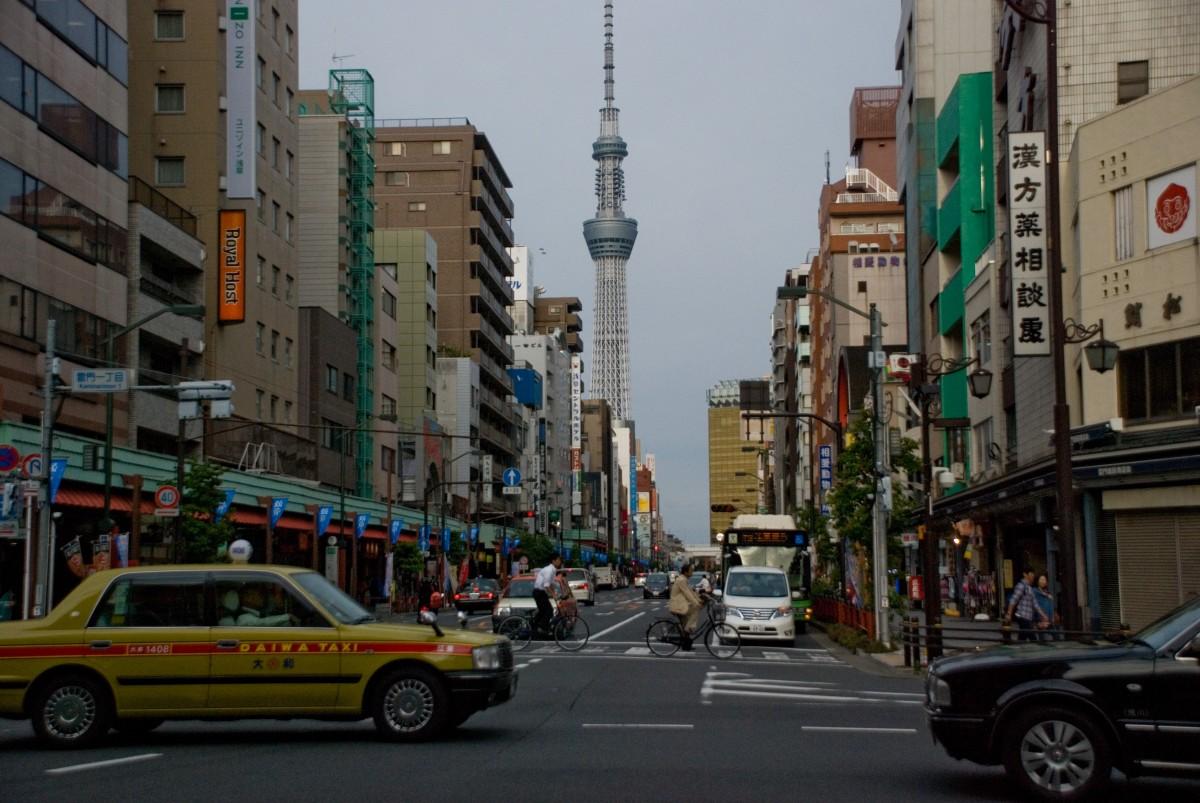 Zdjęcia: Asakusa, Tokio, Piękno codzienności., JAPONIA