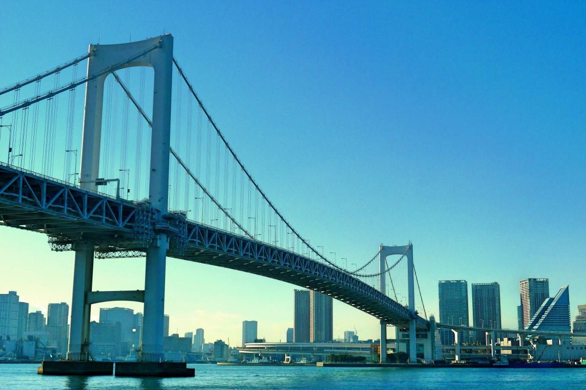 Zdjęcia: Sumida, Tokio, Rainbow bridge, JAPONIA