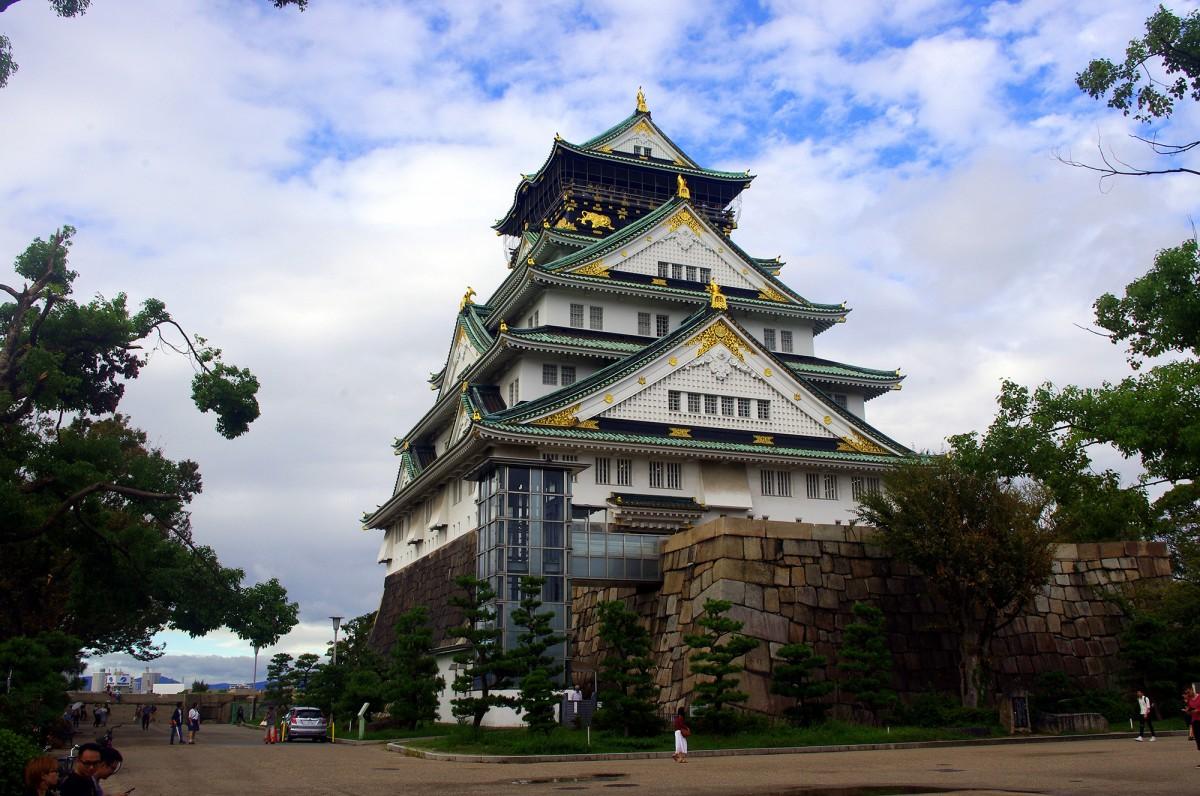 Zdjęcia: Osaka, Kansai, Zamek Osaka, JAPONIA
