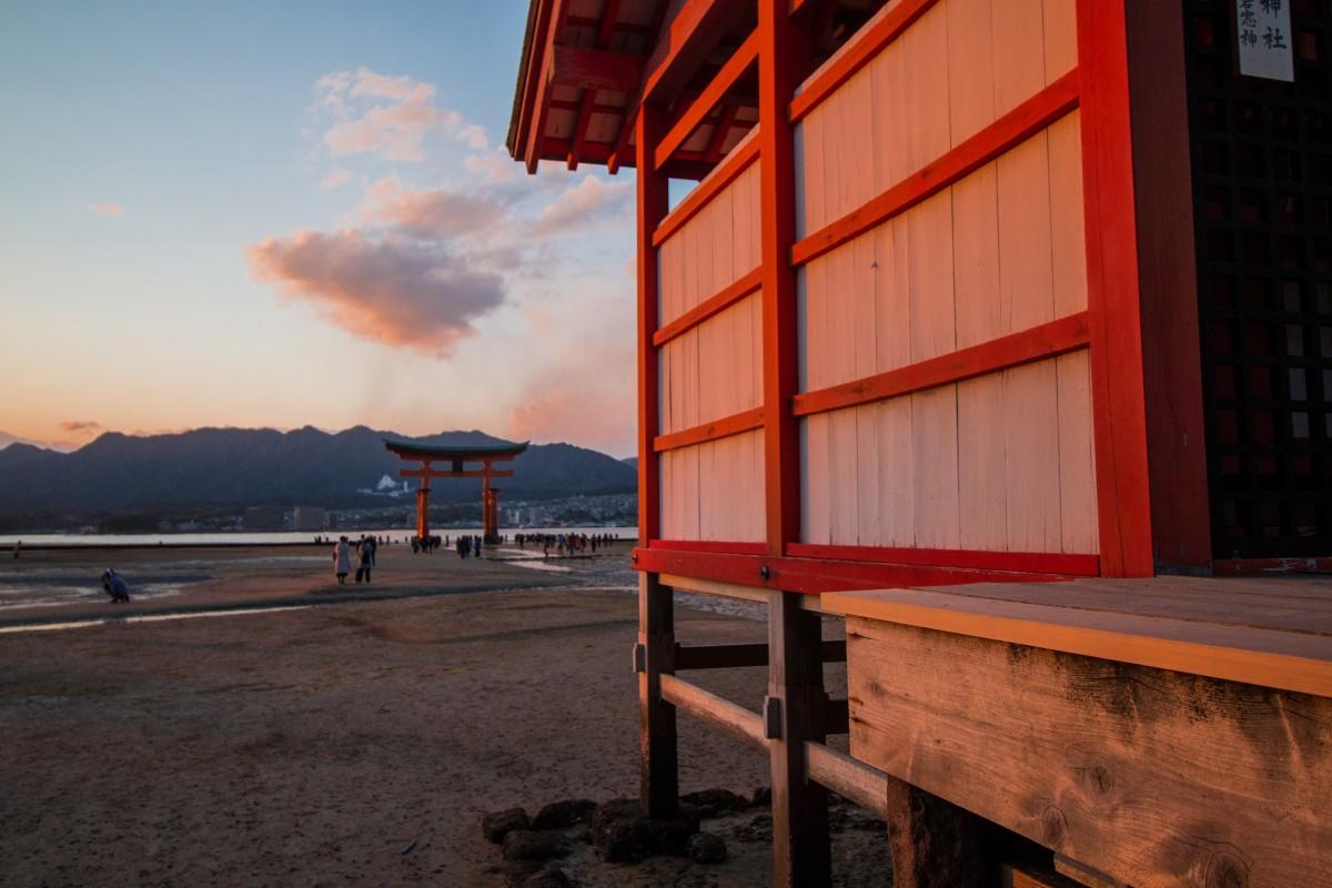 Zdjęcia: Miyajima, Hiroshima, Itsukishima-jinja, JAPONIA