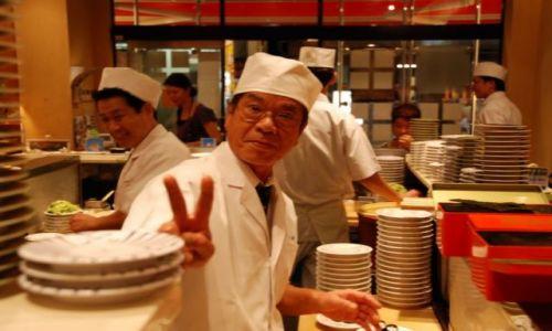 Zdjecie JAPONIA / Honsiu / Tokyo / Sushi Master