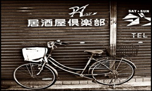 Zdjecie JAPONIA / Osaka / Osaka / uliczne inspiracje