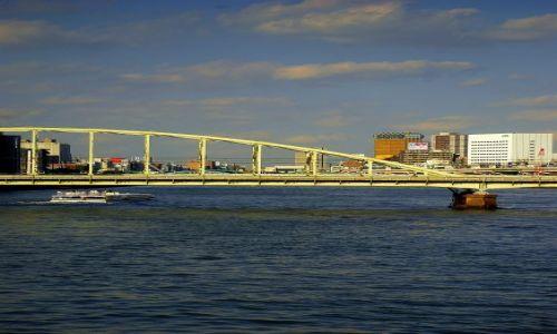 Zdjecie JAPONIA / Tokio  / most  / popoludniowy rekonesans