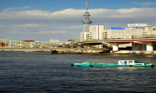 JAPONIA / Tokio  / most  / jezdzic. plywac.