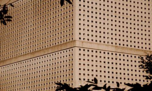 Zdjecie JAPONIA / Tokio  / Cesar Palace Garden / architektoniczny lad