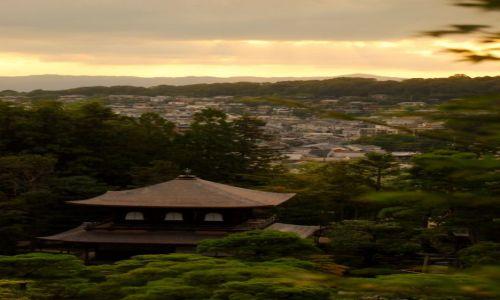 JAPONIA / Kioto  / Temple  / koniec dnia i swiatynia.