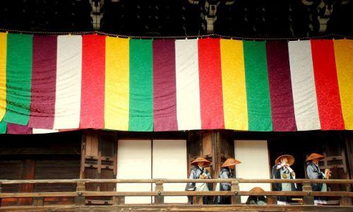 Zdjęcie JAPONIA / Kioto / temple / przedceremonialne poprawki