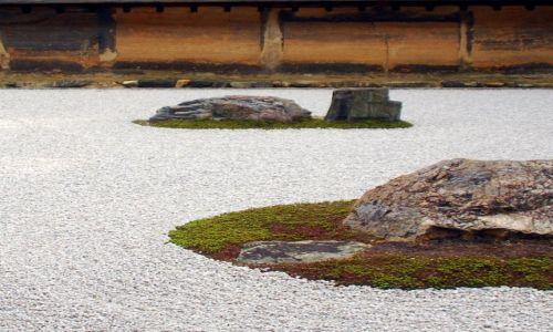Zdjecie JAPONIA / Kioto / temple / ten garden jest Zen