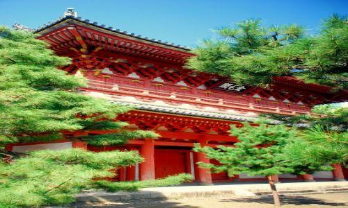 Zdjecie JAPONIA / Kioto / temple / świątynia w kolorze