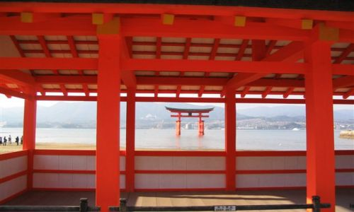 Zdjecie JAPONIA / brak / Miyajima / Itsukushima -jinja