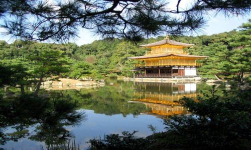 Zdjęcie JAPONIA / brak / Kioto / Kinkaku-ji