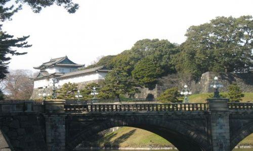 Zdjecie JAPONIA / Tokyo / Obok pałacu Cesarza / Pałac Cesarski