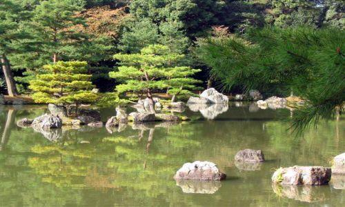 Zdjecie JAPONIA / brak / Kioto / Ogród Kinkaku-ji