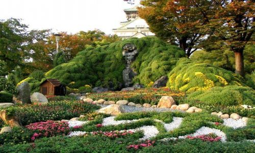 Zdjecie JAPONIA / brak / Osaka / Ogr�d Osaka-jo