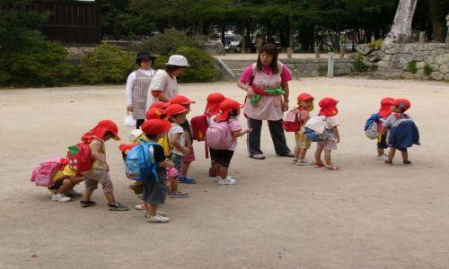 Zdjecie JAPONIA / Kyushu / Dazaifu / Strój przedszkolny