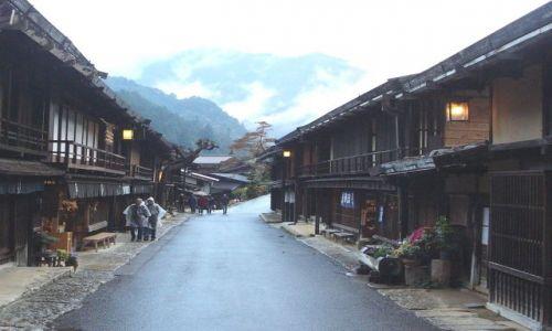 JAPONIA / Honshu / Tsumago / Strój wieczorowy wyjściowy