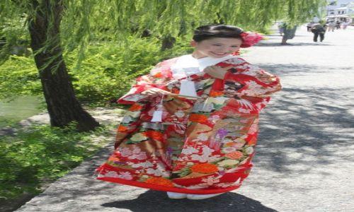 Zdjecie JAPONIA / Kurashiki / Kurashiki / Panna młoda w tradycyjnym stroju