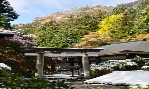 Zdjecie JAPONIA / Honsiu / Yamadera  / Yamadera świątynia