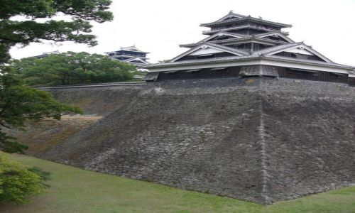 Zdj�cie JAPONIA / Kiusiu / Kumamoto / Zamek II
