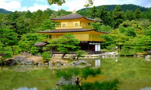 Zdjecie JAPONIA / Honsiu / Kioto / Złoty Pałac