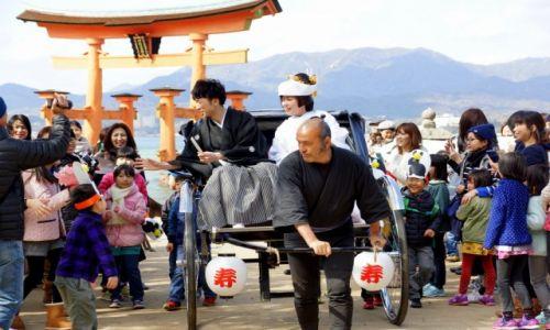 Zdjęcie JAPONIA / okolice Hiroszimy / Miyajima / Japoński ślub