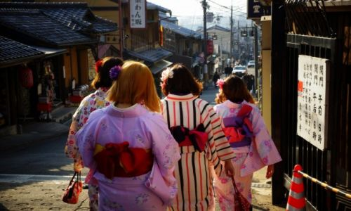 Zdjęcie JAPONIA / - / Kioto / Moda uliczna :)
