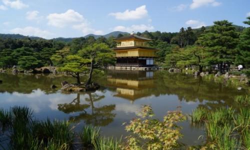 Zdjęcie JAPONIA / Kyoto / Kinkaku-ji / Złoty Pawilon