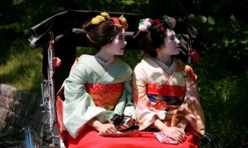 Zdjecie JAPONIA / - / Kyoto / Odpoczynek w cieniu