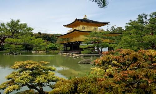 Zdjęcie JAPONIA / - / Kyoto / Złoty pawilon
