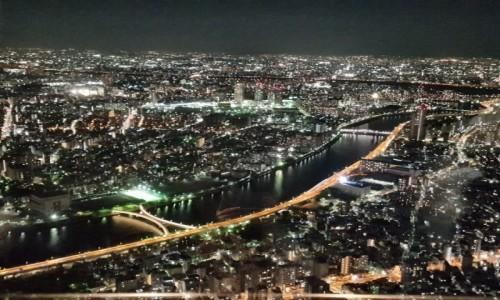 Zdjęcie JAPONIA / HONSIU / TOKYO / Widok ze SKY TREE