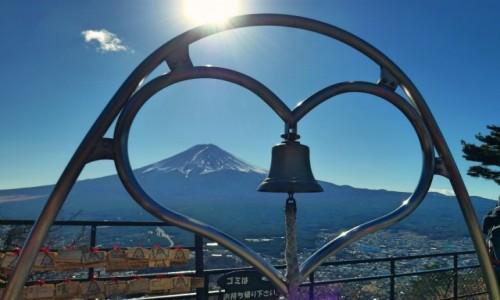 Zdjęcie JAPONIA / Fuji Five Lakes / Mount Tenjo / Pocztówkowo
